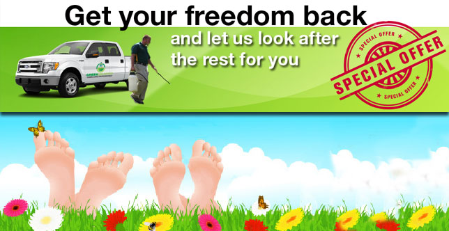 Promotion – Green Unlimited Ottawa Lawn Care Services